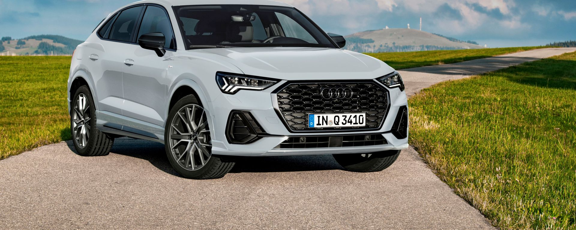 Audi Q3 Sportback: il frontale