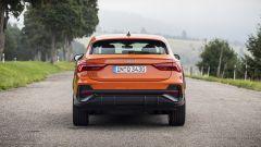 Audi Q3 Sportback, il retrotreno