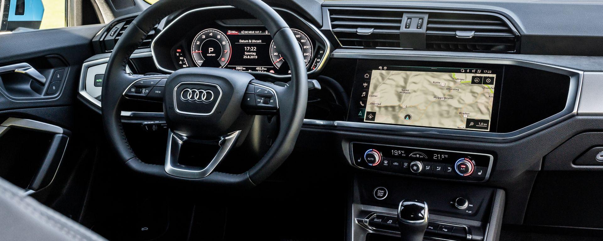Audi Q3 Sportback, l'infotainment