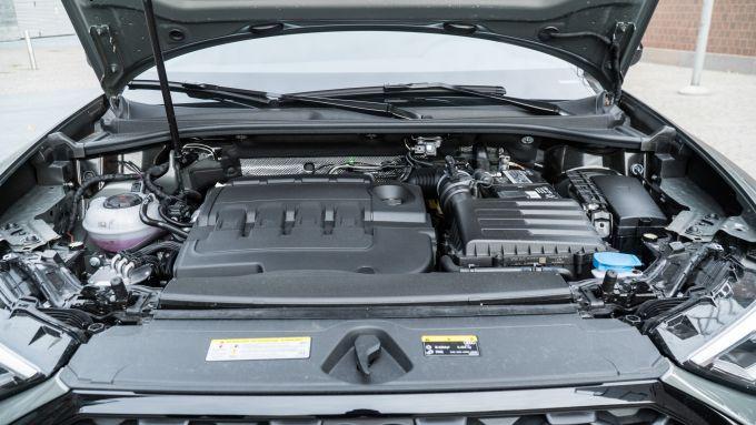 Audi Q3 Sportback motore 35 TDI 2.0 litri 150 CV e 320 Nm