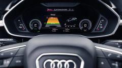 Audi Q3 Sportback PHEV, il cruscotto digitale