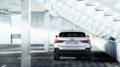 Audi Q3 Sportback PHEV, visuale posteriore