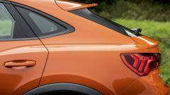 Audi Q3 Sportback, tettuccio discendente