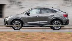 Audi Q3 Sportback vista laterale