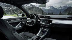 Audi Q3 TFSI e: visuale degli interni