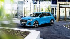 Audi Q3 TFSI e: visuale di 3/4 anteriore