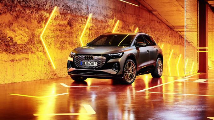 Audi Q4 50 e-tron quattro: al via gli ordini del SUV elettrico