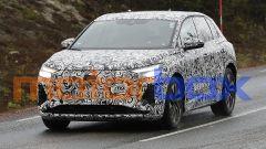 Audi Q4 e-tron 2021: visuale anteriore
