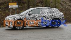 Audi Q4 e-tron 2021: visuale laterale