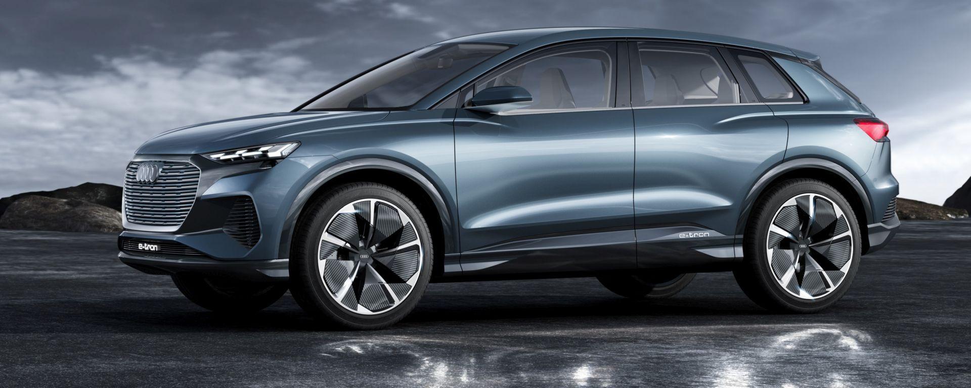 Audi Q4 e-tron: aperti i pre-order
