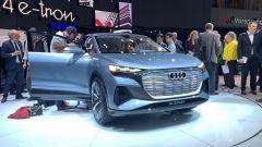 Audi Q4 e-tron Concept, live da Ginevra 2019