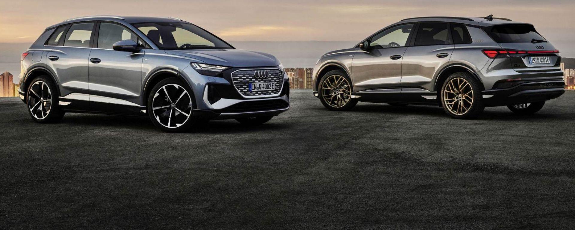 Audi Q4 e-tron e Q4 e-tron Sportback