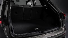 Audi Q4 e-tron: il bagagliaio con i sedili in uso
