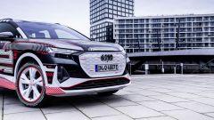 Audi Q4 e-tron: il frontale