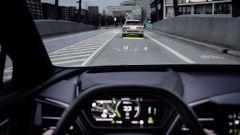 Audi Q4 e-tron, il navigatore in realtà aumentata