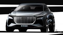 Audi Q4 e-tron, il prototipo a Ginevra 2019