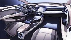 Audi Q4 E-Tron: l'abitacolo