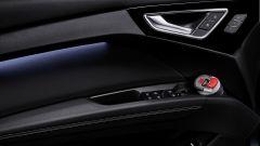 Audi Q4 e-tron: le tasche portabottiglie nelle portiere