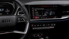 Audi Q4 e-tron: lo schermo centrale dell'infotainment da 11,6