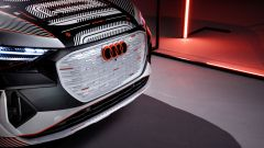 Audi Q4 e-tron: particolare del muso