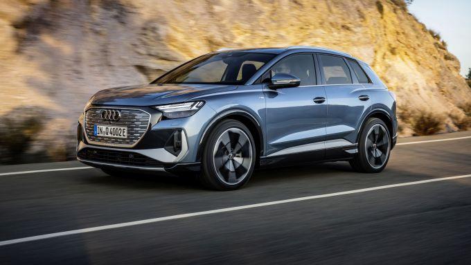 Audi Q4 e-tron: tre potenze e due tagli di batteria