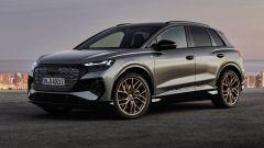 Audi Q4 e-tron, vista 3/4 anteriore