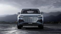Audi Q4 e-tron: visuale anteriore