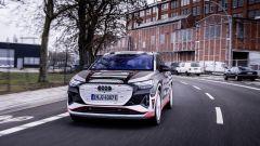 Audi Q4 e-tron: visuale di 3/4 anteriore