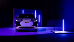 Audi Q4 e-tron: visuale frontale