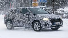 Nuova Audi Q4: le immagini spia della Q3 Sportback, il SUV Coupé