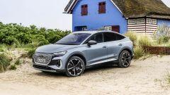 Audi Q4 Sportback e-tron: a trazione posteriore oppure integrale