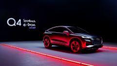 Audi Q4 Sportback e-tron concept: fino a 306 CV elettrici