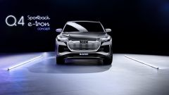 Audi Q4 Sportback e-tron concept: il frontale