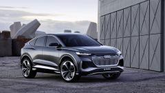 Audi Q4 Sportback e-tron concept: qui il prototipo del SUV elettrico coupé, in arrivo nel 2021