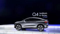 Audi Q4 Sportback e-tron concept: vista laterale
