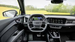 Audi Q4 Sportback e-tron: i futuristici interni