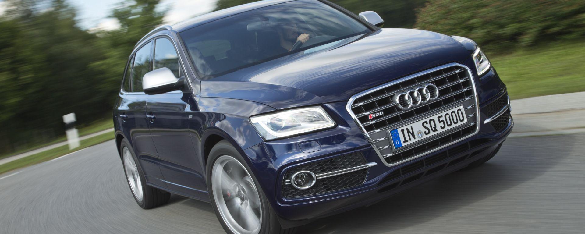 Audi Q5 2012 e Audi SQ5 TDI