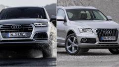 Audi Q5 2017 vs Audi Q5 fine serie