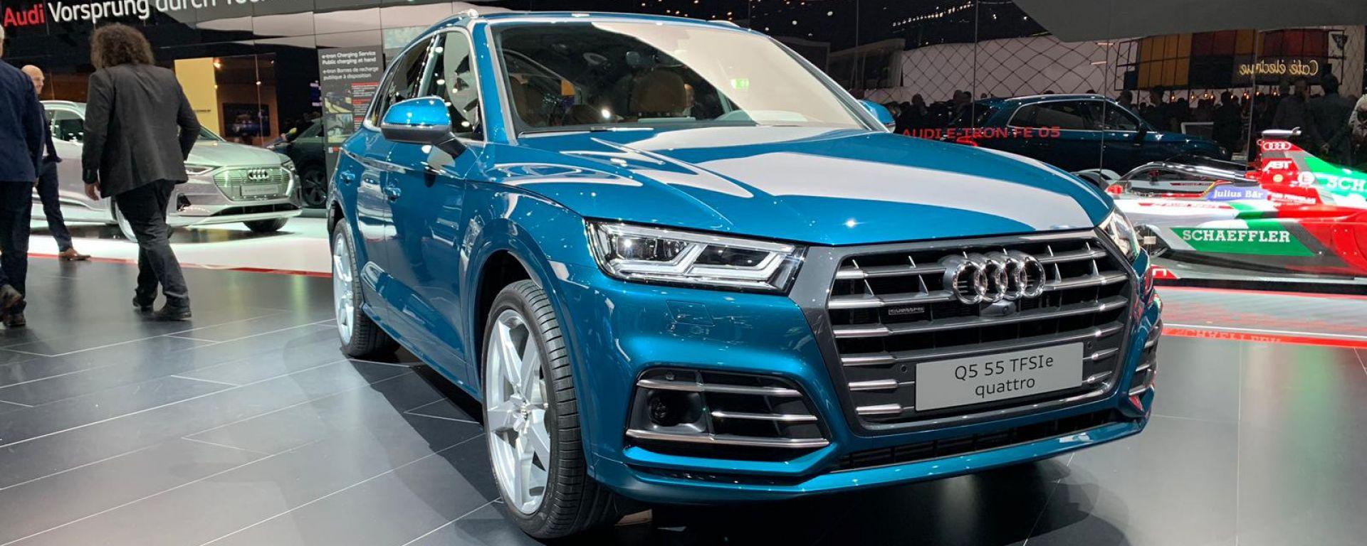 Audi Q5 2019 PHEV: a Ginevra 2019 il SUV diventa ibrido