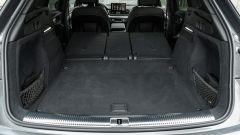 Audi Q5 40 TDI quattro S tronic S line plus 2021, bagagliaio a sedili reclinati