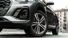 Audi Q5 40 TDI quattro S tronic S line plus 2021, dettaglio del fendinebbia