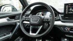 Audi Q5 40 TDI quattro S tronic S line plus 2021, il volante