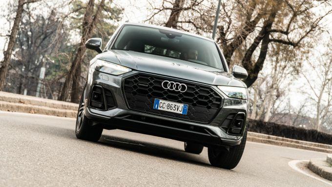 Audi Q5 40 TDI quattro S tronic S line plus 2021, la prova su strada