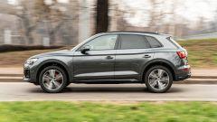 Audi Q5 40 TDI quattro S tronic S line plus 2021, un momento del test drive