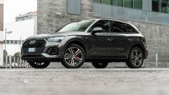 Audi Q5 40 TDI quattro S tronic S line plus 2021, vista 3/4 anteriore