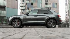 Audi Q5 40 TDI quattro S tronic S line plus 2021, vista laterale