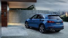 Audi Q5 55 TFSI e quattro, fase di ricarica