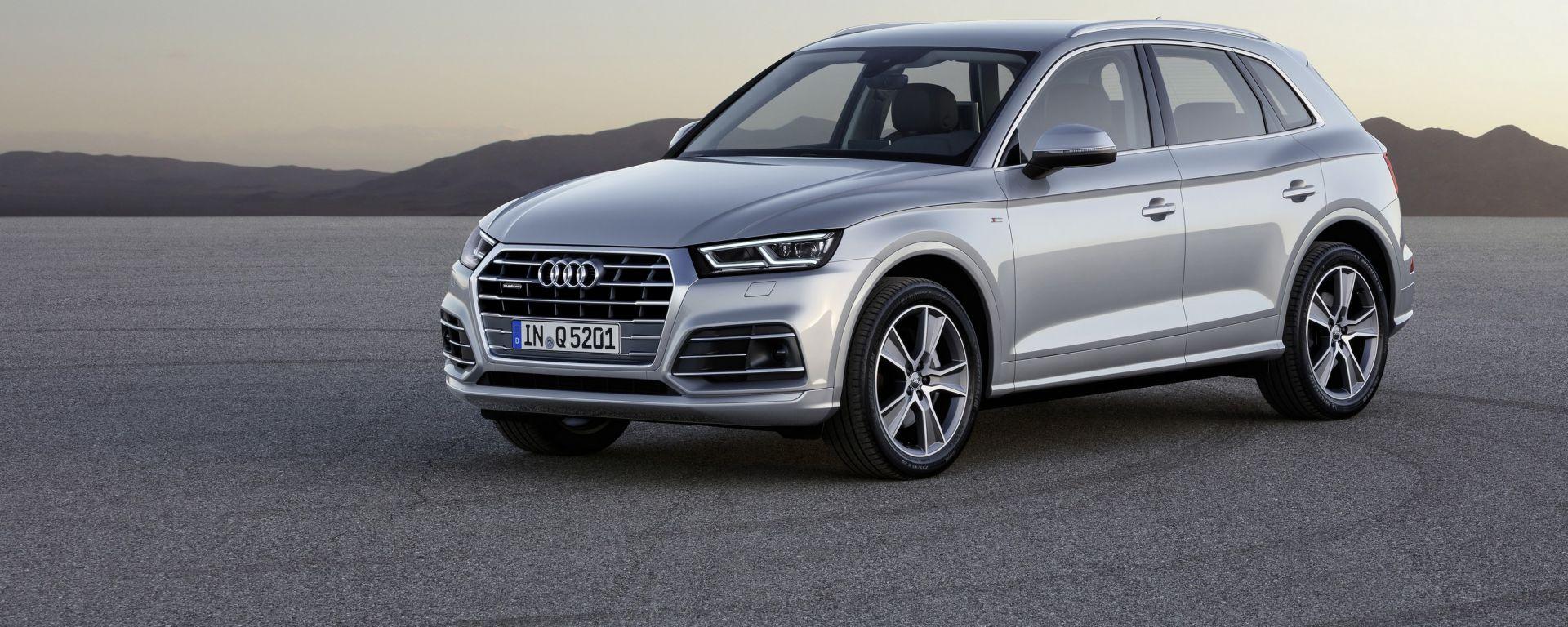 Audi Q5: la nuova suv degli anelli arriverà nelle concessionarie nel corso del gennaio 2017