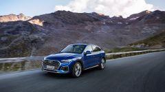 Audi Q5 Sportback 2021: al lancio un diesel da 204 CV e 400 Nm