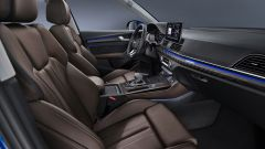 Audi Q5 Sportback 2021: gli interni